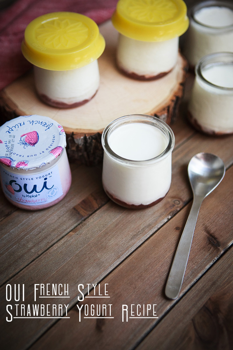 Oui French Style Strawberry Yogurt Recipe Strawberry
