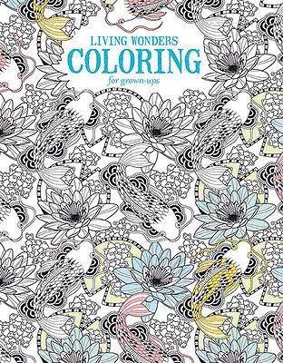 Leisure Arts Living Wonders Adult Coloring Book