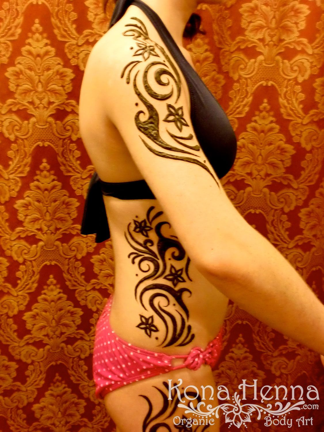 Henna Gallery Full Body Kona Henna Studio Hawaii Tatto Henna