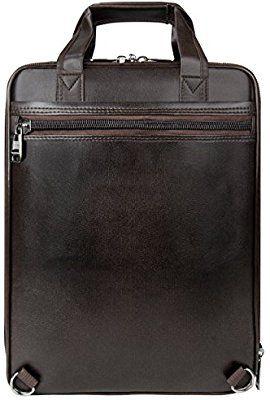 3425f008f81d Vangoddy Pittas Vegan Leather 3-in-1 Hybrid Briefcase Backpack ...
