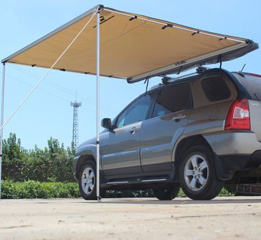 Rhino Overland Car Awning With Images Car Awnings Roof Top Tent Top Tents