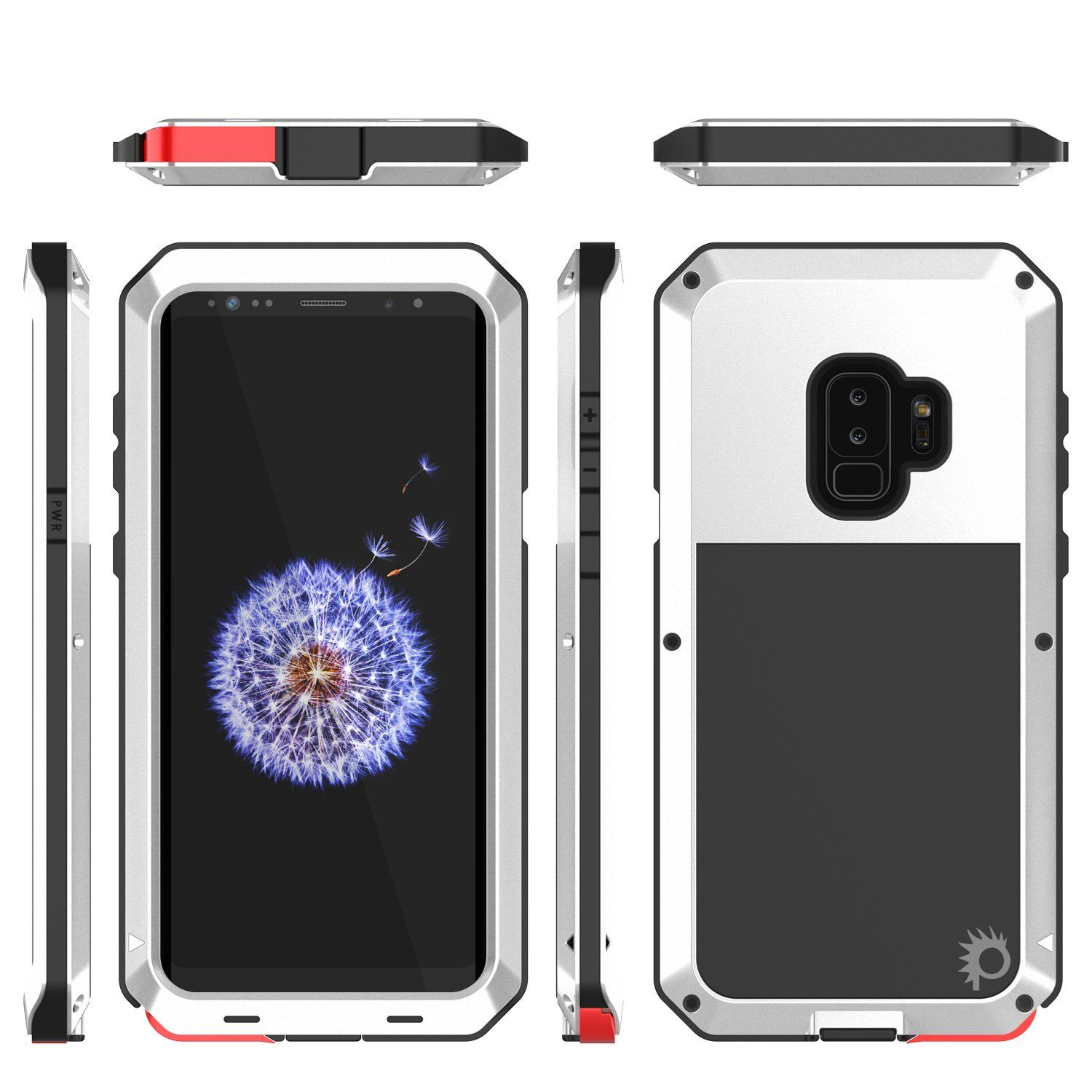 best service 08732 f7a6a Galaxy S9 Plus Metal Case, Heavy Duty Military Grade Rugged Armor ...