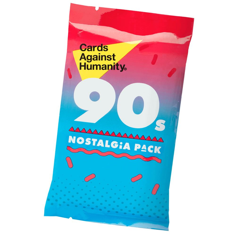 Cards Against Humanity 90s Nostalgia Pack 30 Cards Cards About The