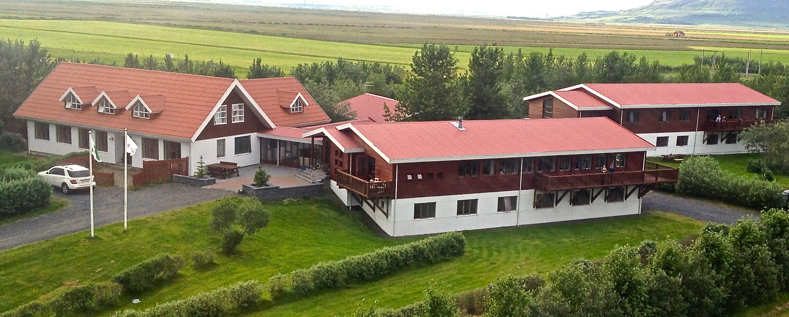 Hotel Accommodation Close To Mountain Hekla In South Iceland