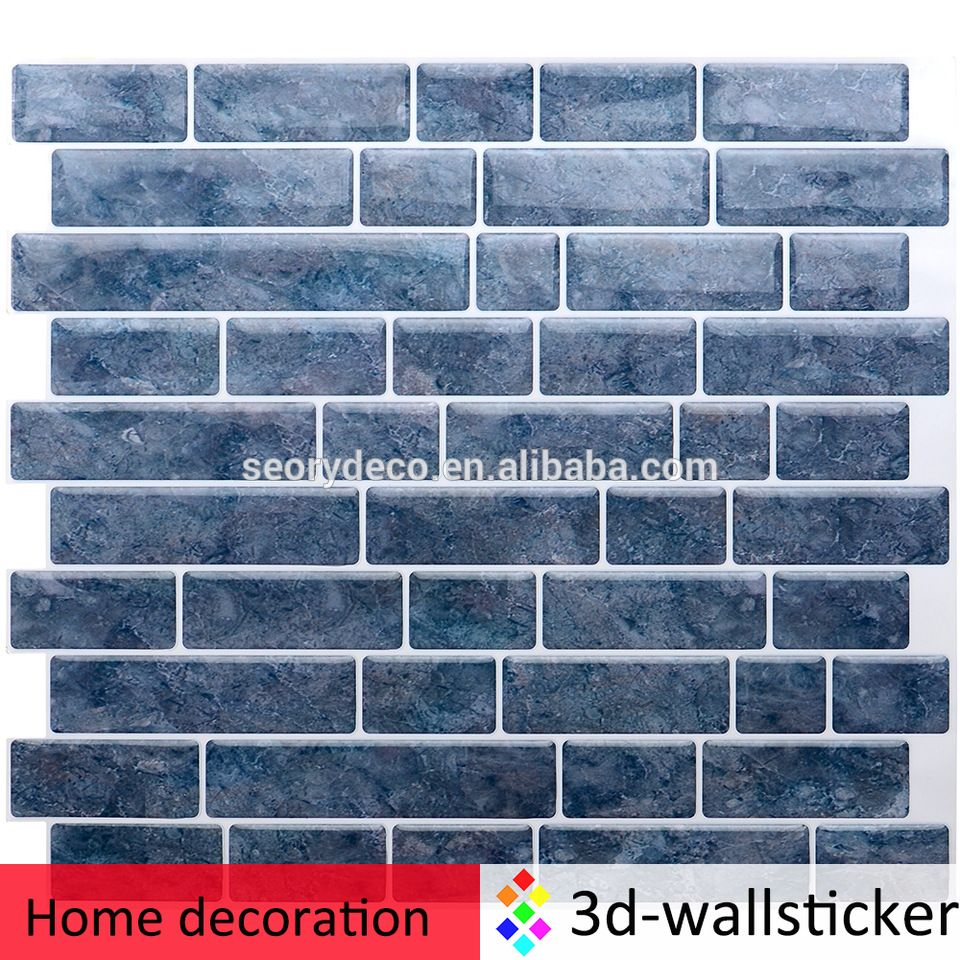 Stick On Tile Decorations Wholesale Marble Mosaic Wall Decoration Peel And Stick Backsplash