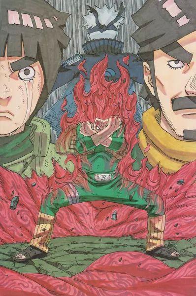the cover from the naruto manga 69 hehe - Naruto 69