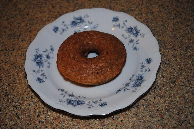 baked maple cinnamon doughnuts