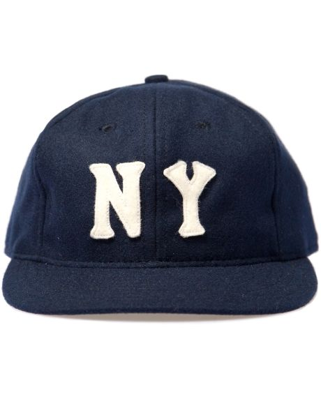 Ebbets Field Flannels Navy New York Black Yankees 1936 Cap Hbx Cap Yankees Mens Caps