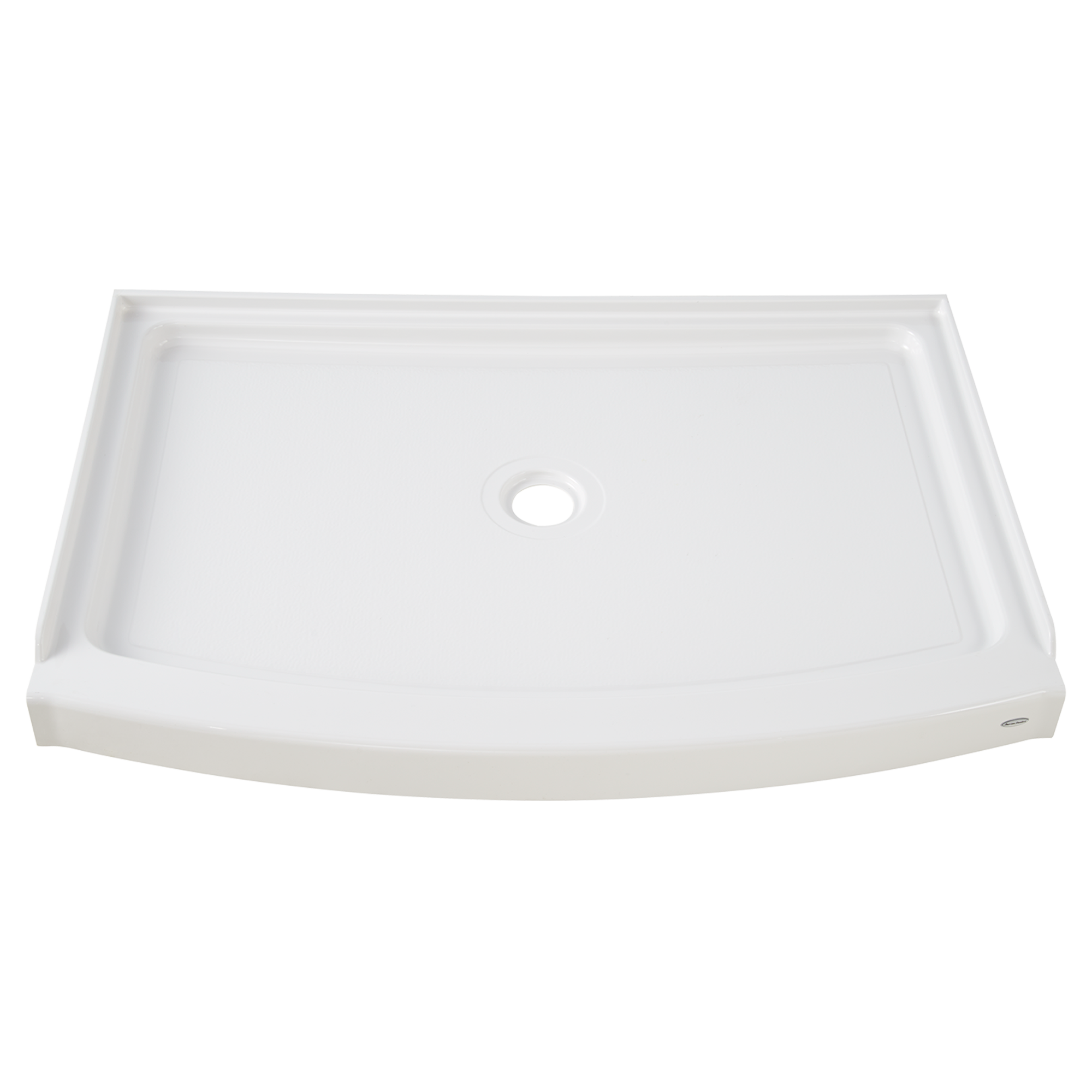 The American Standard Ovation Curved 48 Inch Shower Base Is