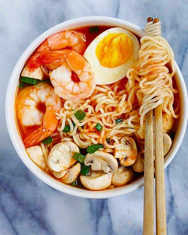 #Feedfeed #Ramen #RECIPE #Shrimp #Sriracha