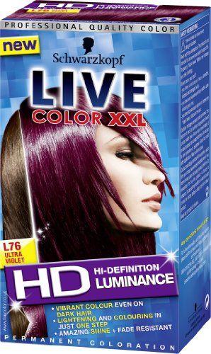 3417970661 Hair Colors · Schwarzkopf LIVE Color XXL Luminance L76 Ultra Violet LIVE XXL  http://www.