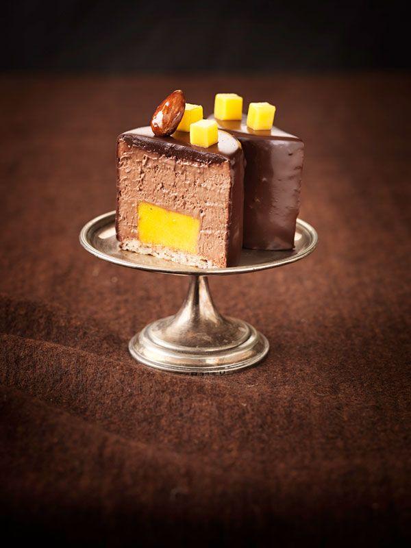 Schoko Mango Tortchen Rezept Torten Schoko Dessert Und Torten Rezepte