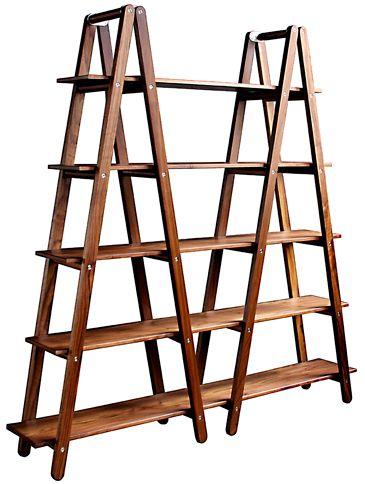 Wyeth Bookcase Product Image Number 1 Diy Ladder Ladder Shelf