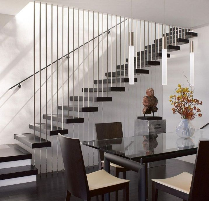 40 Trending Modern Staircase Design Ideas And Stair Handrails: 40 Awesome Modern Stairs Railing Design 40 In 2019