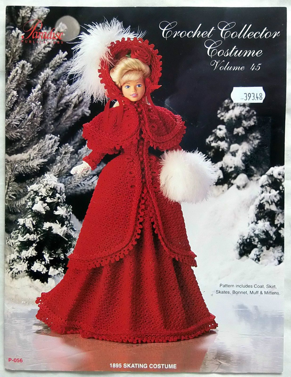 * Paradise Fashion Doll Barbie Crochet Collector Costume