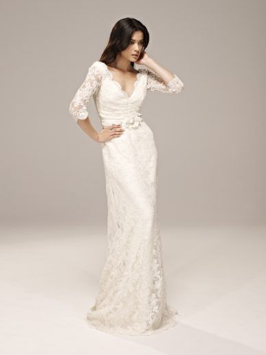 40 Year Olds Patternsonwalls Collette Dinnigan Lace Wedding Dress Sleeves Bridal Gown
