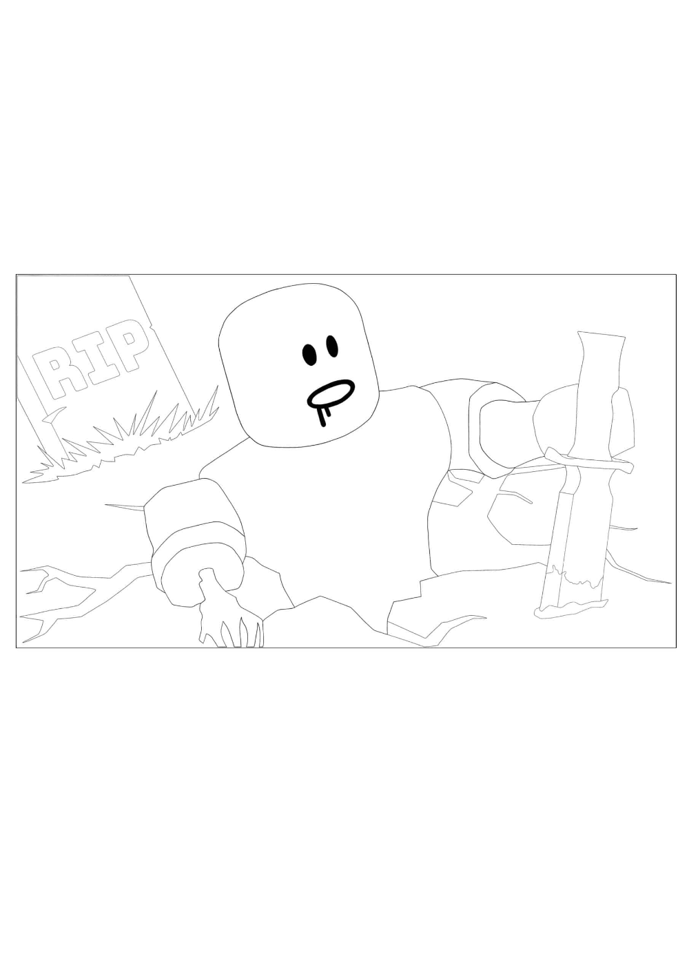 Roblox Zombie Coloring Pages 2 Free Coloring Sheets 2021 In 2021 Free Coloring Sheets Coloring Pages Free Coloring [ 1414 x 1000 Pixel ]