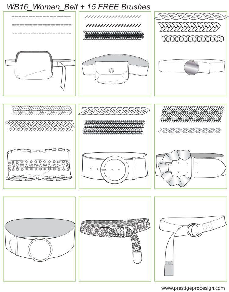 Women Belt Belts for women, Fashion illustration dresses