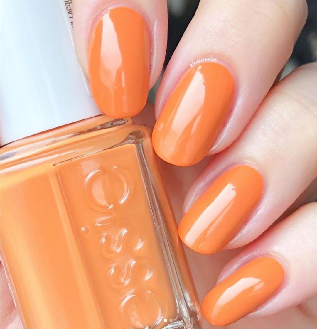 The Perfect Pumpkin Orange Nail Polish