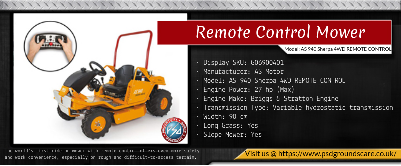 Remote Control Mower Mowers for sale, Mower, Remote control