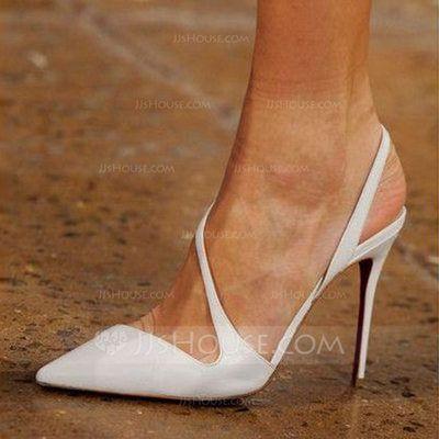 Con Correa Mujer Cuero Otros Stilettos Salón Solo Tacón De xRS06qAq