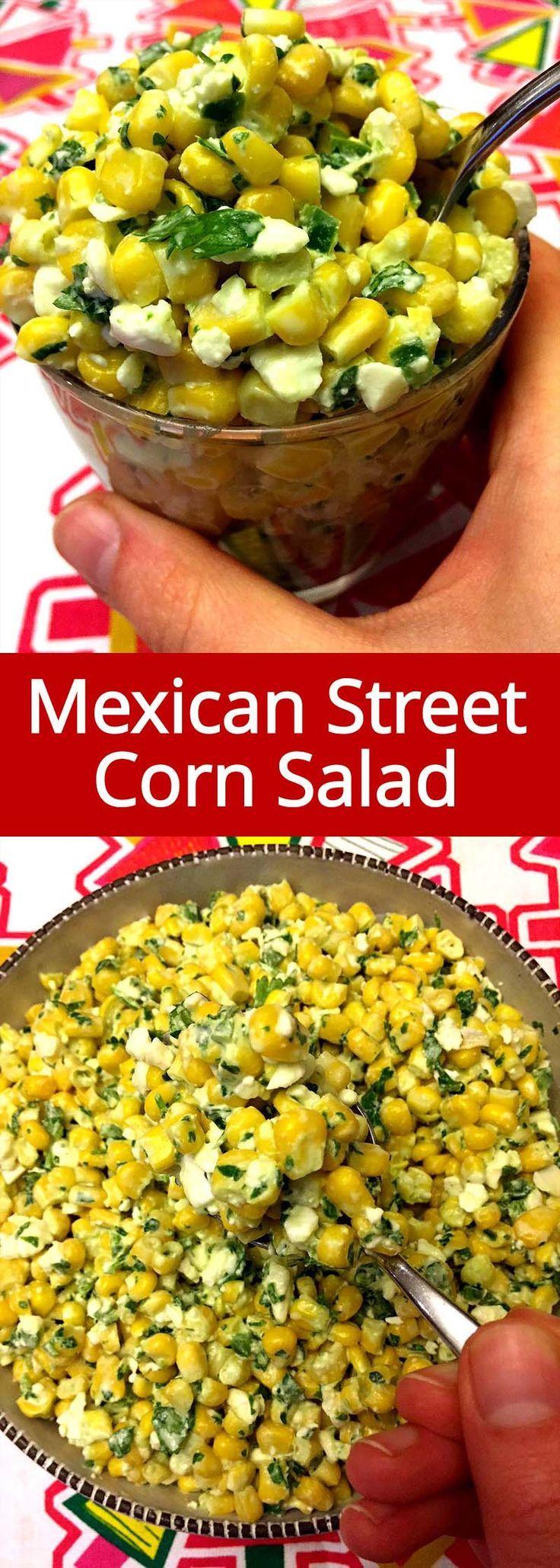 Photo of Mexican street corn salad – #
