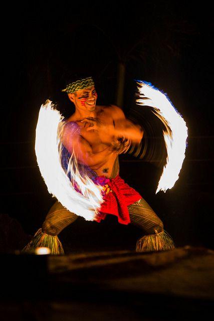 Ring Of Fun Hawaii Fire Tahiti French Polynesia Oahu