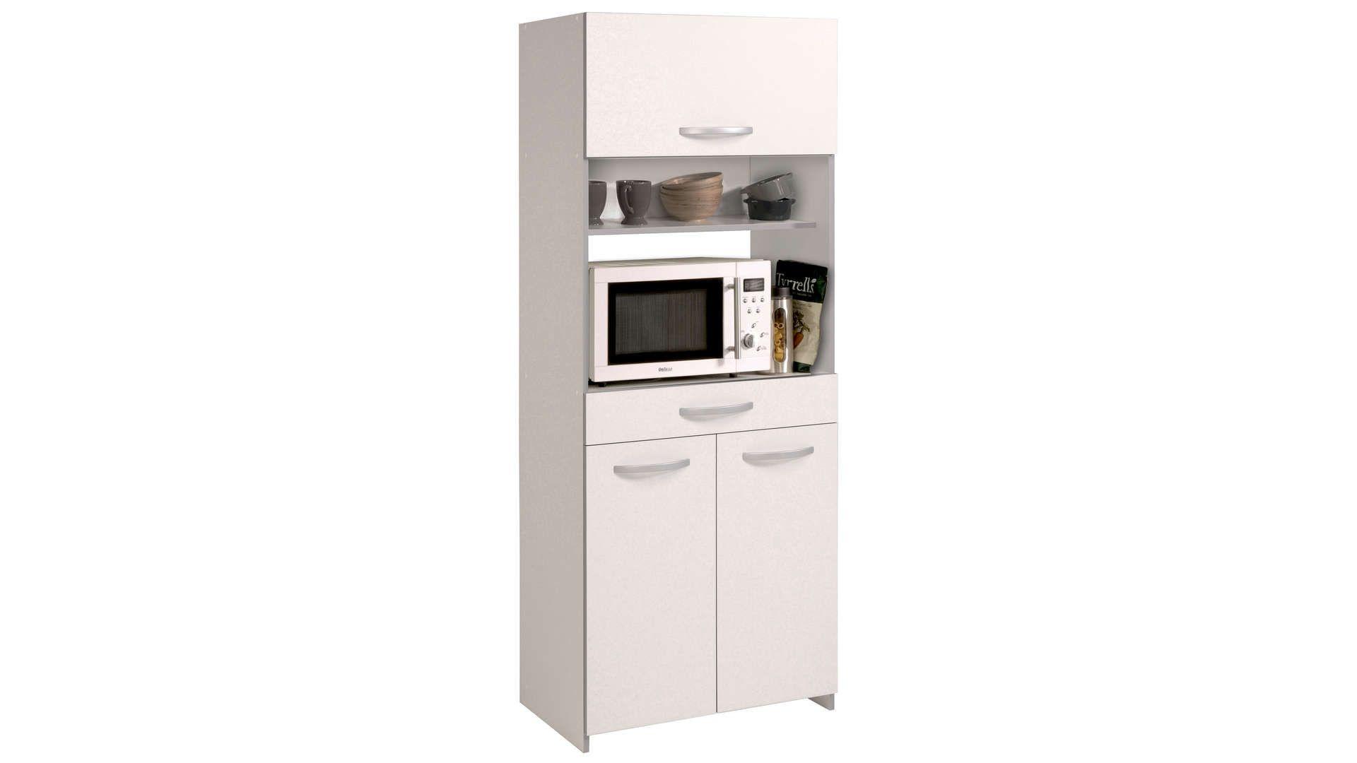 Loge-tout SPOON coloris blanc  Meuble cuisine, Mobilier de salon