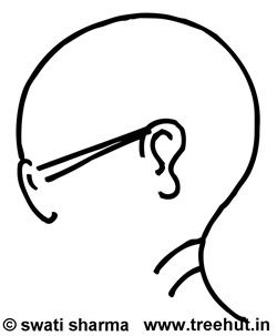 gandhiji standing coloring pages - photo#27