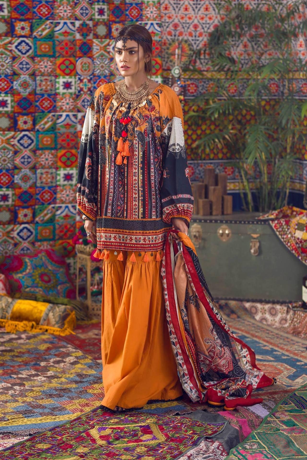 Fashion Pakistan Ethnic By Outfitters Kinship 2017 Via Tumblr Pakistanifashionedits