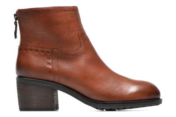 Geox D Kleoo B (Marron) - Bottines et boots chez Sarenza (240027)