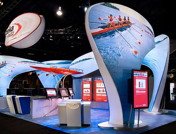 Fabric Exhibition Stand Examples : Tension fabric installations examples of exhibition