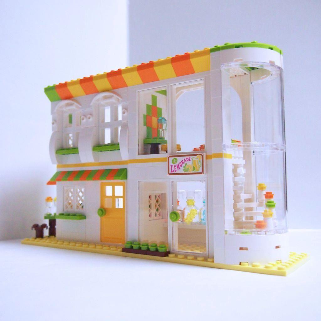 Lemonade Cafe 05 Amazing Lego Projects Pinterest Cafes Lego