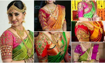 ca04419daa71b6 Traditional south indian bridal blouse designs | blouse design ...