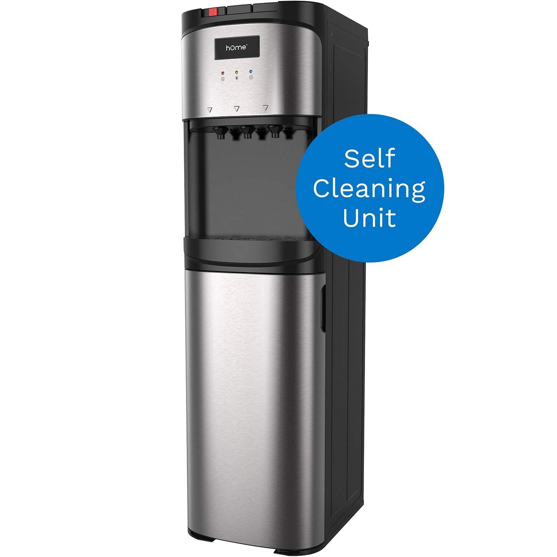 hOmeLabs Self Cleaning Bottom Loading Water Dispenser for