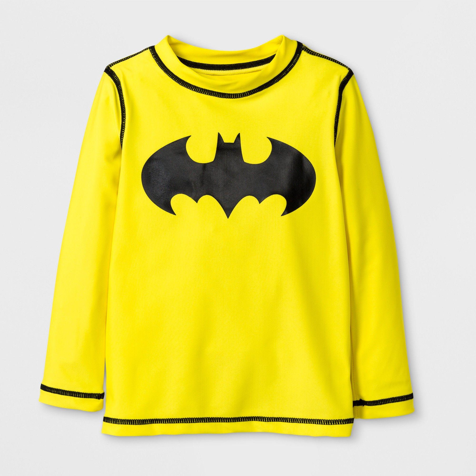DC COMICS Batman Boys 6 Pack Crew Socks Baby//Toddler//Little Kid Infant 2T~5T NEW