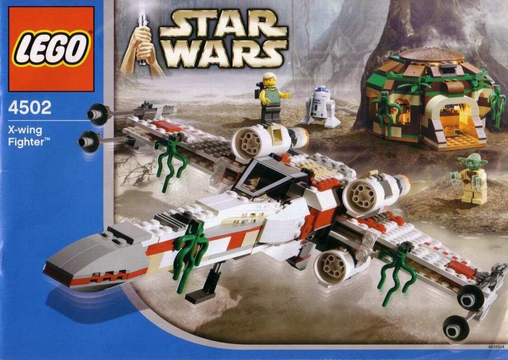 LEGO 4502 Star Wars X Wing Fighter Instruction Manual | Toys ...