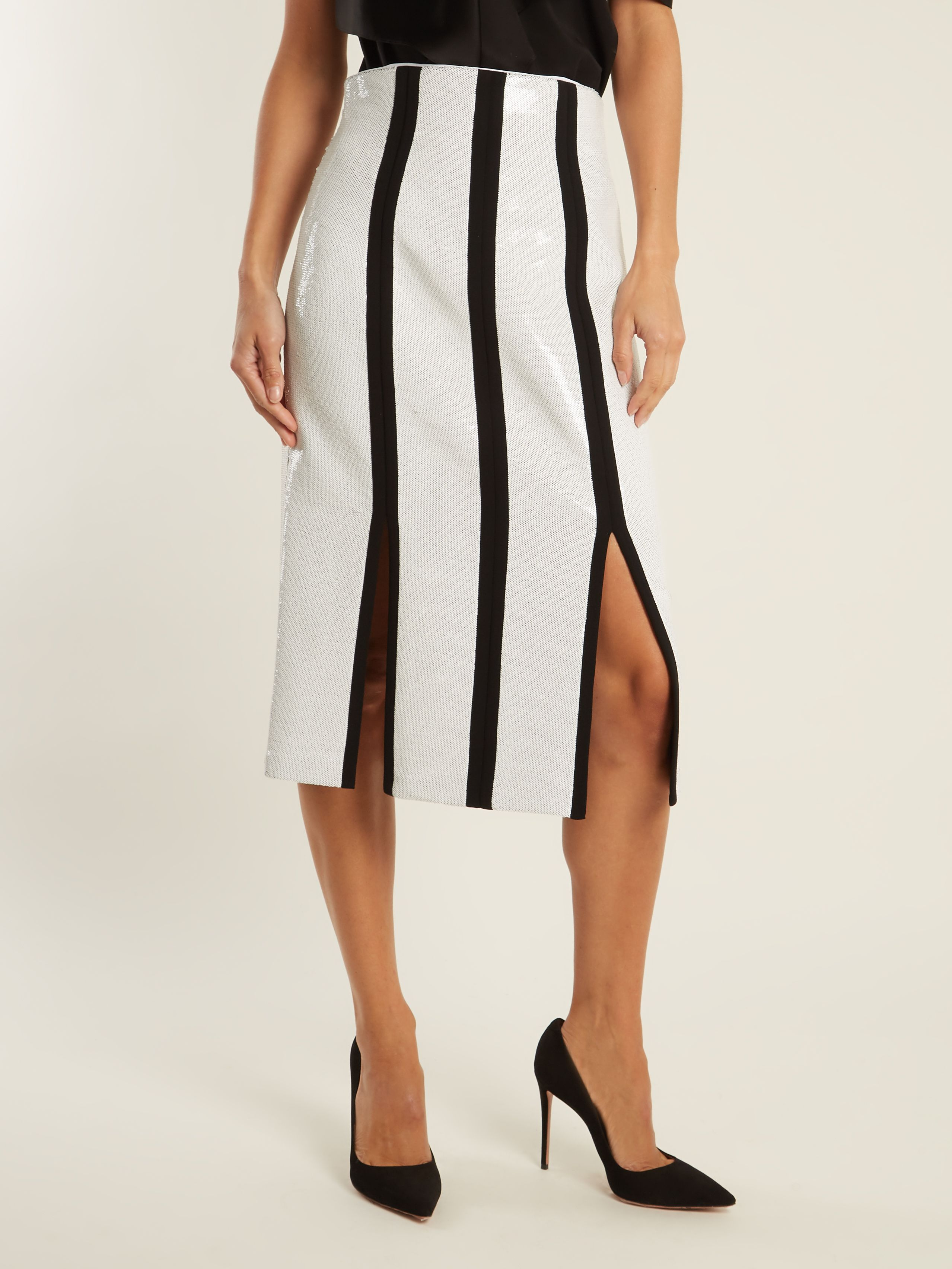 11390e5782 High-rise sequin-embellished midi pencil skirt | Diane Von Furstenberg |  MATCHESFASHION.COM