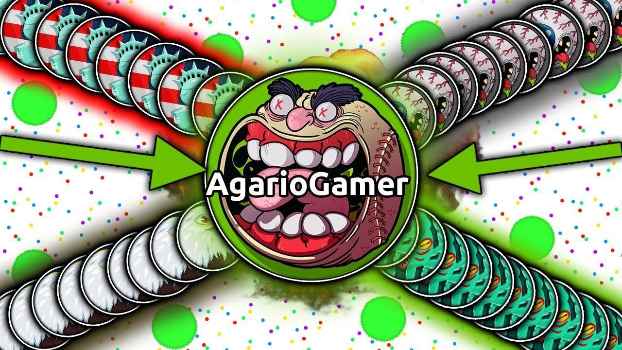 Agario Hack - 100 Bots Agario Gameplay // Agar io Hack | Slither io