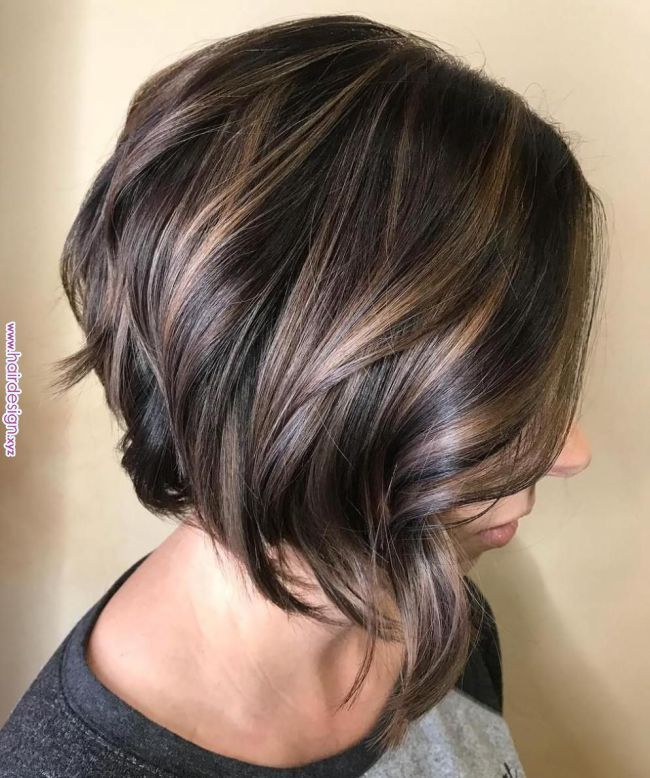 70 Best A Line Bob Hairstyles Screaming With Class And Style 15 Chocolate Bob With Lay Short Hairstyles For Thick Hair Bob Hairstyles Choppy Bob Hairstyles