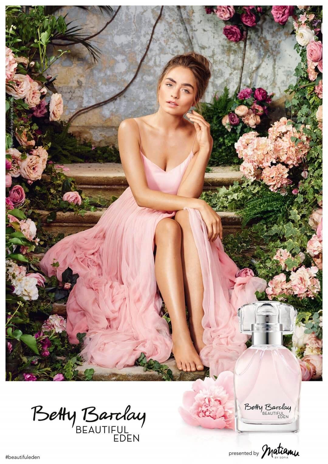 Beautiful Eden Betty Barclay Fragrance Wedding Girl Fashion Bridesmaid Dresses