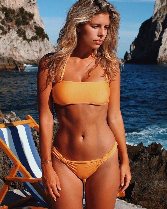Days by the Mediterranean Sea 💙🇮🇹 wearing @MondaySwimwear