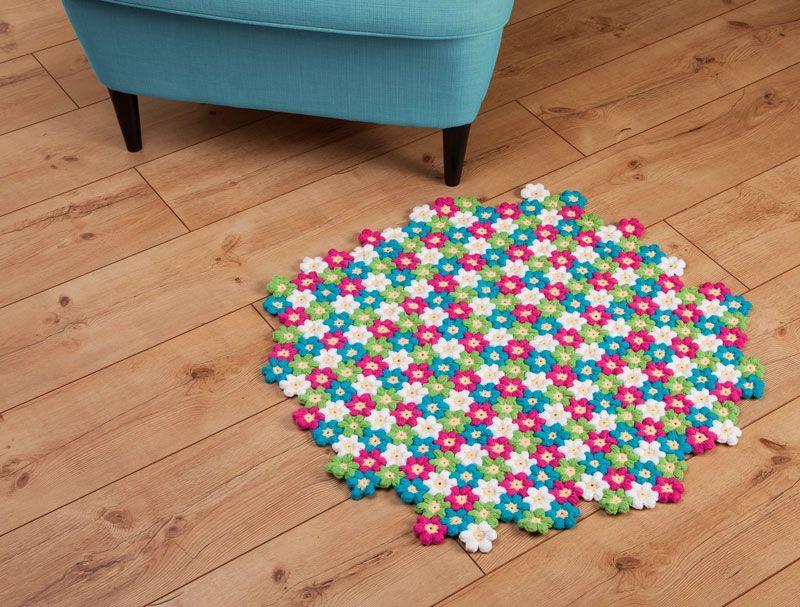 Kostenlose Anleitung Blütenteppich Häkeln Buttinette Blog Knit