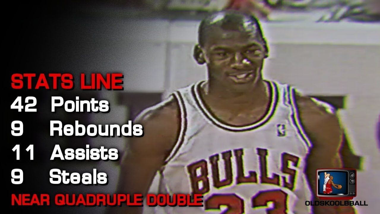 59dfc0508f06 Michael Jordan Vs Boston Celtics  Almost Quadruple Double! 42pts 9rebs  11asts 9stls (01.15.1989) - YouTube