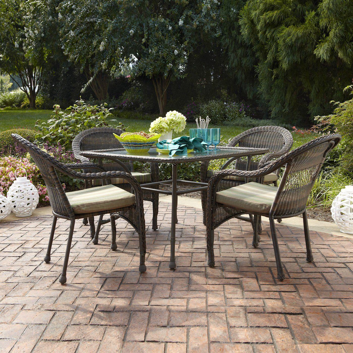 Garden Treasures Severson 5Piece Outdoor Dining Set at