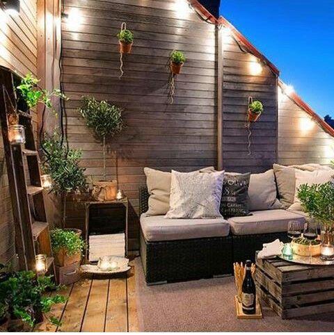 Um charme essa varanda