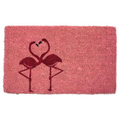 Found it at Wayfair - Handmade Flamingos Doormat