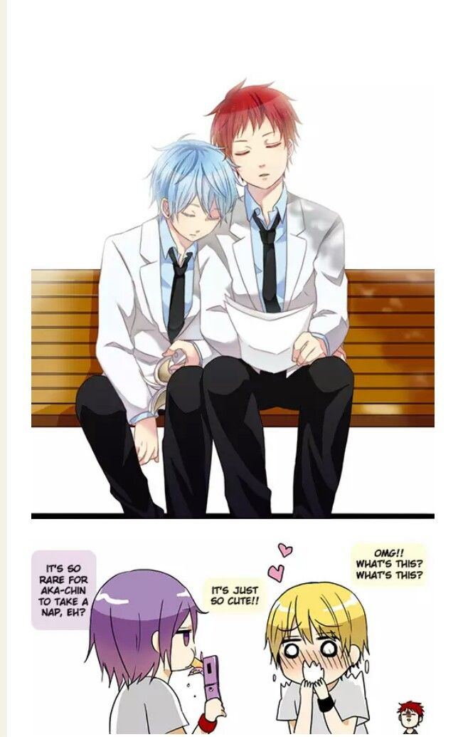 Kise and Murasakibara better not tell or show that pic to ...