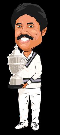 Kapil Dev World Cup Caricature World Cup Jerseys