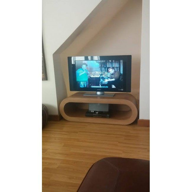Retro Hoop Coffee Table Tv Stand Large